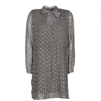 Υφασμάτινα Γυναίκα Κοντά Φορέματα Le Temps des Cerises CHANI Grey