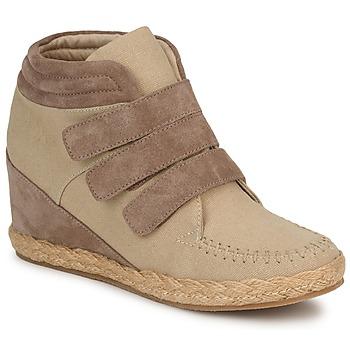 Παπούτσια Γυναίκα Ψηλά Sneakers No Name SPLEEN STRAPS Beige / TAUPE