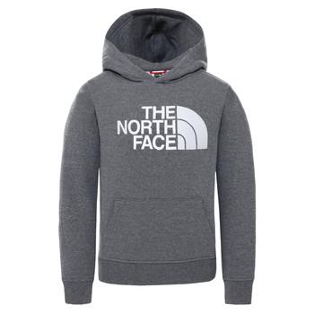 Υφασμάτινα Παιδί Φούτερ The North Face DREW PEAK HOODIE Grey
