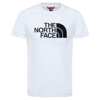 Υφασμάτινα Αγόρι T-shirt με κοντά μανίκια The North Face EASY TEE Άσπρο