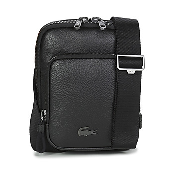 Τσάντες Άνδρας Pouch / Clutch Lacoste SOFT MATE MEDIUM Black