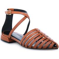 Παπούτσια Γυναίκα Σανδάλια / Πέδιλα Elvio Zanon PARMA CUOIO Marrone