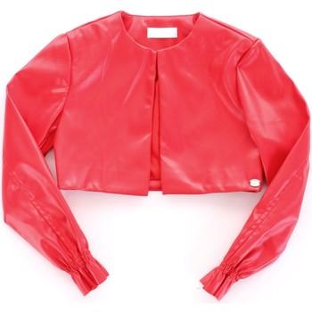 Υφασμάτινα Κορίτσι Δερμάτινο μπουφάν Byblos Blu BJ14994 Rosso