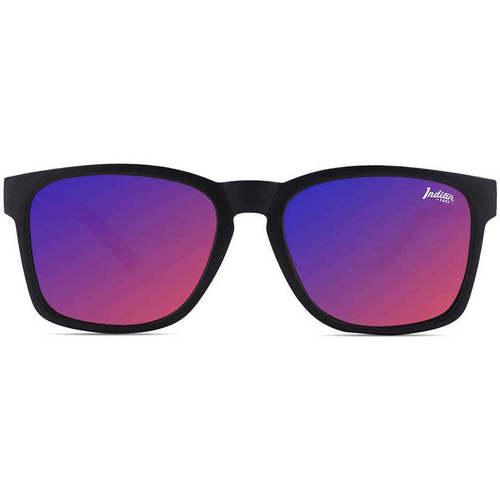 Ρολόγια & Kοσμήματα óculos de sol The Indian Face Free Spirit Black