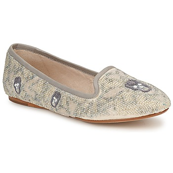 Παπούτσια Γυναίκα Μοκασσίνια House of Harlow 1960 ZENITH Beige / Grey