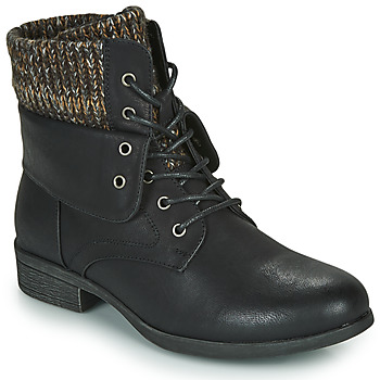 Παπούτσια Γυναίκα Μπότες Spot on F50613 Black