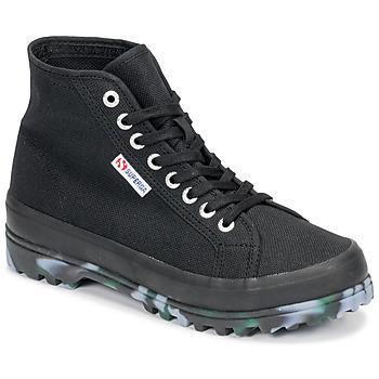 Παπούτσια Γυναίκα Ψηλά Sneakers Superga 2341 ALPINA MARBLEGUM Black