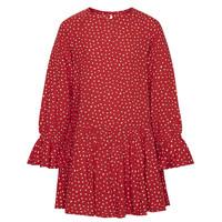 Υφασμάτινα Κορίτσι Κοντά Φορέματα Pepe jeans CATY Red