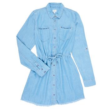 Υφασμάτινα Κορίτσι Κοντά Φορέματα Pepe jeans ZOEY Μπλέ