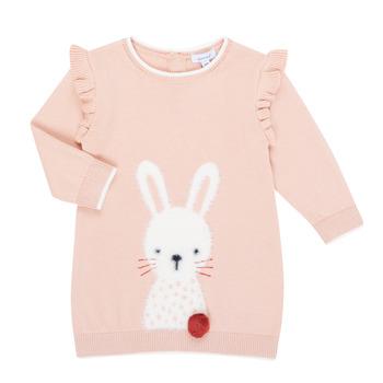 Υφασμάτινα Κορίτσι Κοντά Φορέματα Absorba 9R30092-312-B Ροζ