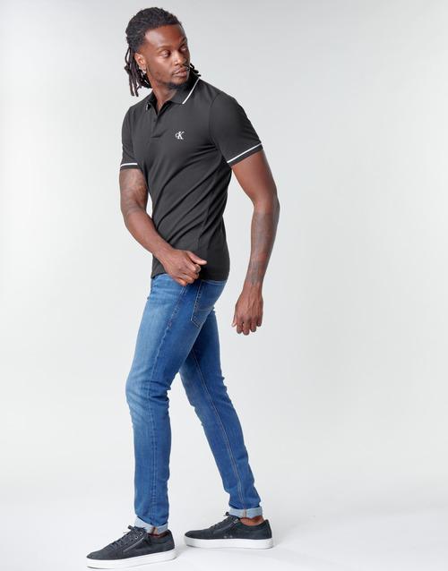 Calvin Klein Jeans TIPPING SLIM POLO