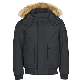 Υφασμάτινα Άνδρας Παρκά Calvin Klein Jeans FUR TRIMMED DOWN JACKET Black