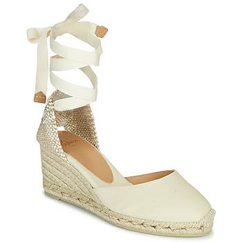 Παπούτσια Γυναίκα Σανδάλια / Πέδιλα Castaner CARINA Ivory
