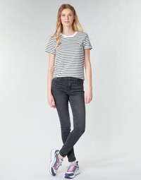Υφασμάτινα Γυναίκα Skinny jeans Levi's 720 HIGH RISE SUPER SKINNY Smoked / Out