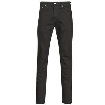 Υφασμάτινα Άνδρας Skinny Τζιν  Levi's 512 SLIM TAPER Black