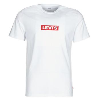 Υφασμάτινα Άνδρας T-shirt με κοντά μανίκια Levi's BOXTAB GRAPHIC TEE Άσπρο