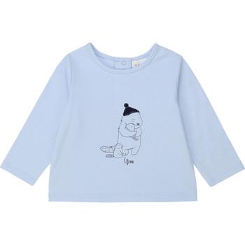 Υφασμάτινα Αγόρι Μπλουζάκια με μακριά μανίκια Carrément Beau Y95249 Μπλέ