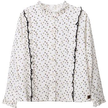 Υφασμάτινα Κορίτσι Μπλούζες Carrément Beau Y15356 Άσπρο