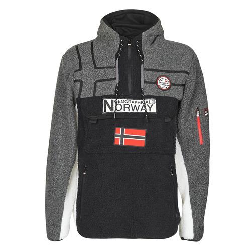 Υφασμάτινα Άνδρας Fleece Geographical Norway RIAKOLO Black
