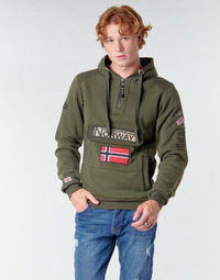 Υφασμάτινα Άνδρας Φούτερ Geographical Norway GYMCLASS Kaki