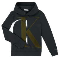 Υφασμάτινα Αγόρι Φούτερ Calvin Klein Jeans IB0IB00628-BEH Black