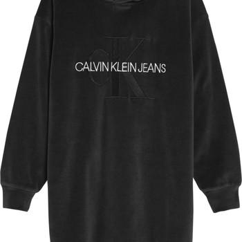 Υφασμάτινα Κορίτσι Κοντά Φορέματα Calvin Klein Jeans IG0IG00711-BEH Black