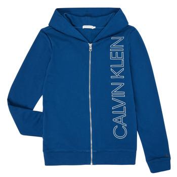 Υφασμάτινα Αγόρι Φούτερ Calvin Klein Jeans IB0IB00668-C5G Μπλέ