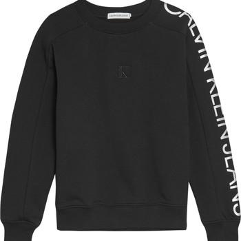 Υφασμάτινα Κορίτσι Φούτερ Calvin Klein Jeans IG0IG00691-BEH Black
