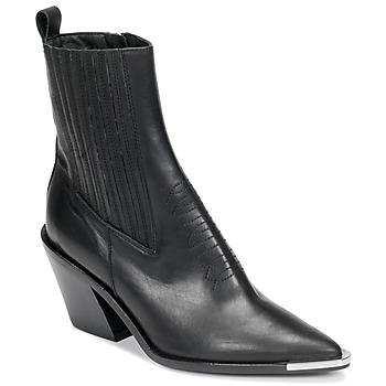 Παπούτσια Γυναίκα Μποτίνια Jonak BINGO Black