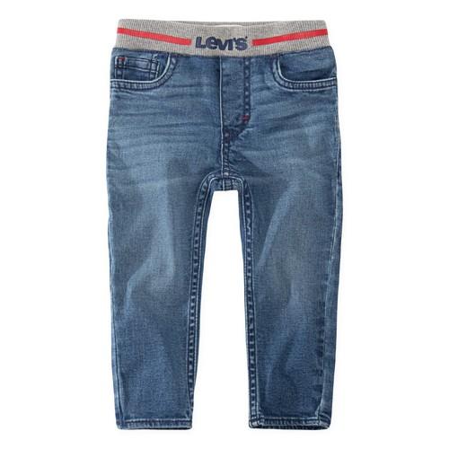 Υφασμάτινα Αγόρι Skinny jeans Levi's PULL-ON SKINNY JEAN Μπλέ