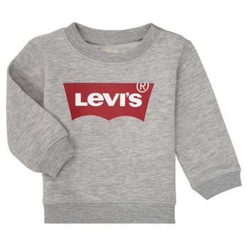 Υφασμάτινα Αγόρι Φούτερ Levi's BATWING CREW Grey