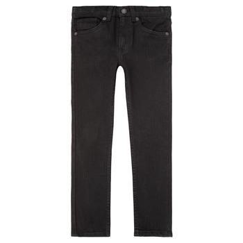 Υφασμάτινα Αγόρι Skinny jeans Levi's 510 SKINNY FIT JEAN Black