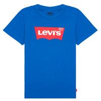 Υφασμάτινα Αγόρι T-shirt με κοντά μανίκια Levi's BATWING TEE Μπλέ