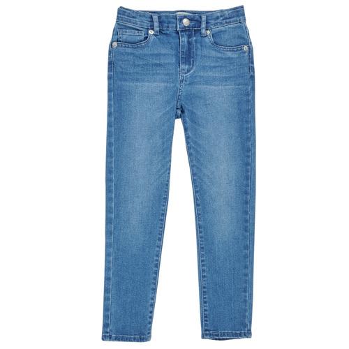 Υφασμάτινα Κορίτσι Skinny jeans Levi's 711 SKINNY JEAN Μπλέ
