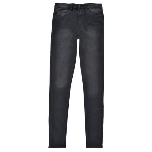 Υφασμάτινα Κορίτσι Skinny jeans Levi's 720 HIGH RISE SUPER SKINNY Black