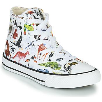 Παπούτσια Παιδί Ψηλά Sneakers Converse CHUCK TAYLOR ALL STAR - SCIENCE CLASS Άσπρο / Multicolour