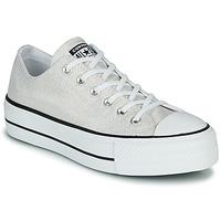 Παπούτσια Γυναίκα Χαμηλά Sneakers Converse CHUCK TAYLOR ALL STAR LIFT - INDUSTRIAL GLAM Silver