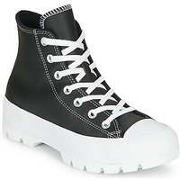 Παπούτσια Γυναίκα Ψηλά Sneakers Converse Chuck Taylor All Star Lugged - Foundational Leather Black