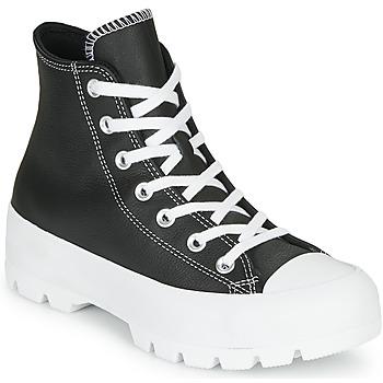 Ψηλά Sneakers Converse CHUCK TAYLOR ALL STAR LUGGED – FOUNDATIONAL LEATHER ΣΤΕΛΕΧΟΣ: Δέρμα & ΕΠΕΝΔΥΣΗ: Ύφασμα & ΕΣ. ΣΟΛΑ: Ύφασμα & ΕΞ. ΣΟΛΑ: Καουτσούκ