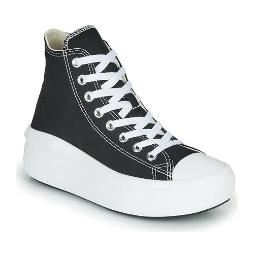 Παπούτσια Γυναίκα Ψηλά Sneakers Converse Chuck Taylor All Star Move Canvas Color Hi Black