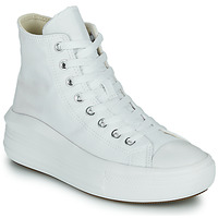 Παπούτσια Γυναίκα Ψηλά Sneakers Converse Chuck Taylor All Star Move Canvas Color Hi Άσπρο