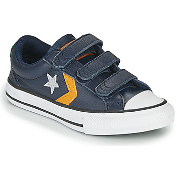 Παπούτσια Αγόρι Χαμηλά Sneakers Converse Star Player 3V - Leather Twist Μπλέ / Moutarde