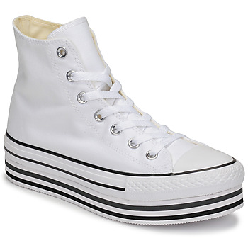 Παπούτσια Γυναίκα Ψηλά Sneakers Converse CHUCK TAYLOR ALL STAR PLATFORM EVA LAYER CANVAS HI Άσπρο