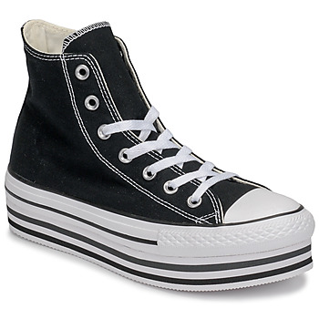 Παπούτσια Γυναίκα Ψηλά Sneakers Converse CHUCK TAYLOR ALL STAR PLATFORM EVA LAYER CANVAS HI Black