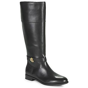 Παπούτσια Γυναίκα Μπότες για την πόλη Lauren Ralph Lauren BAYLEE Black