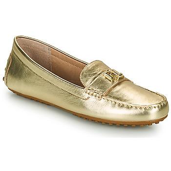 Παπούτσια Γυναίκα Μοκασσίνια Lauren Ralph Lauren BARNSBURY FLATS CASUAL Gold