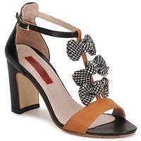 Παπούτσια Γυναίκα Σανδάλια / Πέδιλα MySuelly NOE Black / Brown