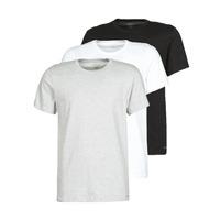 Υφασμάτινα Άνδρας T-shirt με κοντά μανίκια Calvin Klein Jeans CREW NECK 3PACK Grey / Black / Άσπρο
