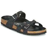 Παπούτσια Γυναίκα Τσόκαρα Birkenstock FRANCA Black