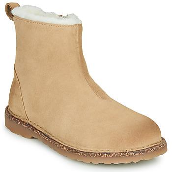 Παπούτσια Γυναίκα Μπότες Birkenstock MELROSE SHEARLING Beige